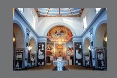 Chiesa dell' Immacolata dopo l'intervento del maestro Leone