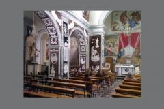 Particolare navata sinistra