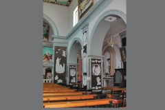 Panoramica navata destra