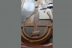 Restauro di un crocifisso del 1700