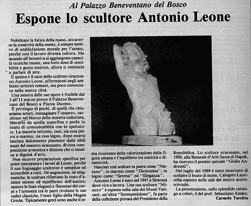 espone+lo+scultore+