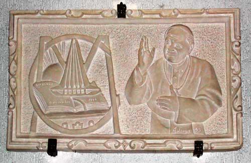 Bozzetto di GiovanniPaolo II Chiesa Santa Rita Siracusa